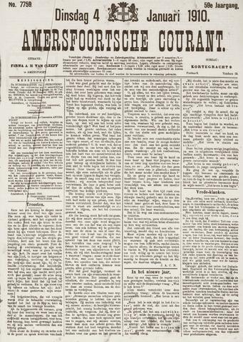Amersfoortsche Courant 1910
