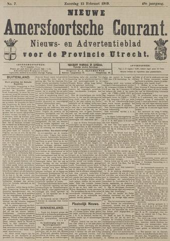 Nieuwe Amersfoortsche Courant 1919-02-15