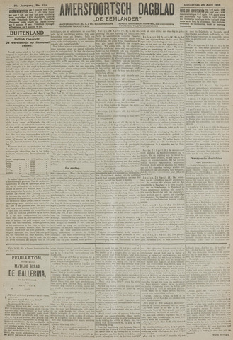 Amersfoortsch Dagblad / De Eemlander 1918-04-25
