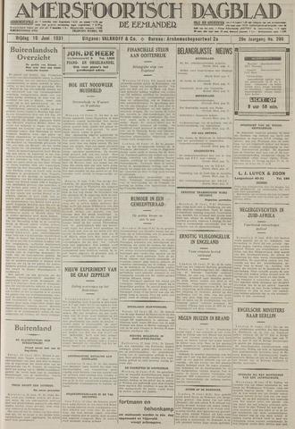 Amersfoortsch Dagblad / De Eemlander 1931-06-19