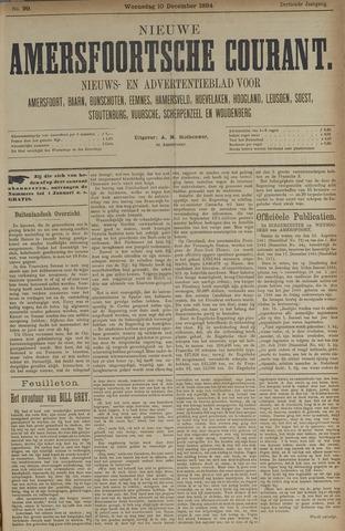 Nieuwe Amersfoortsche Courant 1884-12-10