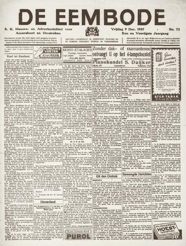 De Eembode 1927-12-09
