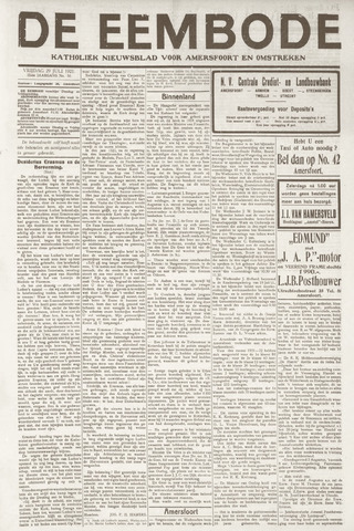 De Eembode 1921-07-29