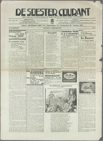 Soester Courant 1938-02-11