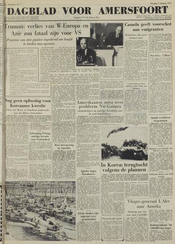 Dagblad voor Amersfoort 1951-01-09