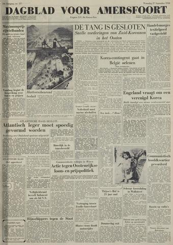 Dagblad voor Amersfoort 1950-09-27