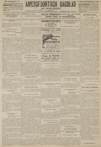 Amersfoortsch Dagblad / De Eemlander 1927-09-29