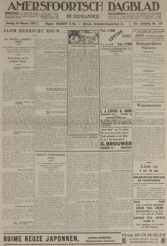 Amersfoortsch Dagblad / De Eemlander 1934-02-20