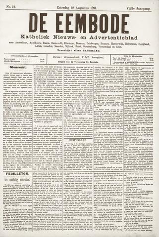 De Eembode 1891-08-22
