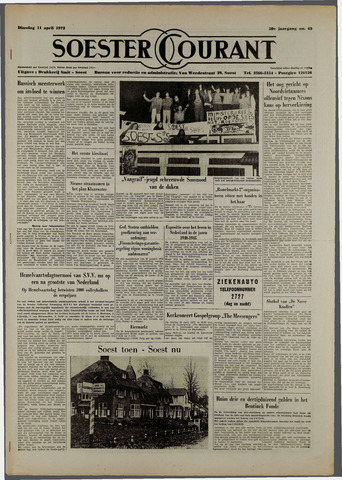 Soester Courant 1972-04-11