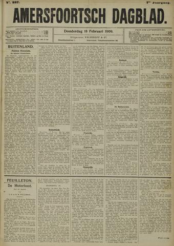 Amersfoortsch Dagblad 1909-02-18