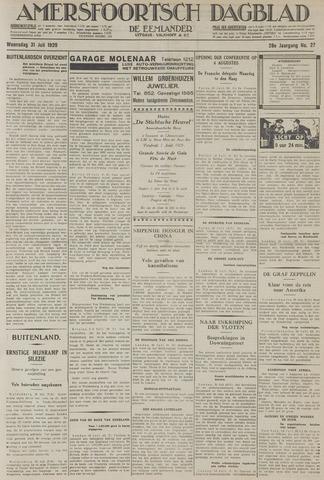 Amersfoortsch Dagblad / De Eemlander 1929-07-31