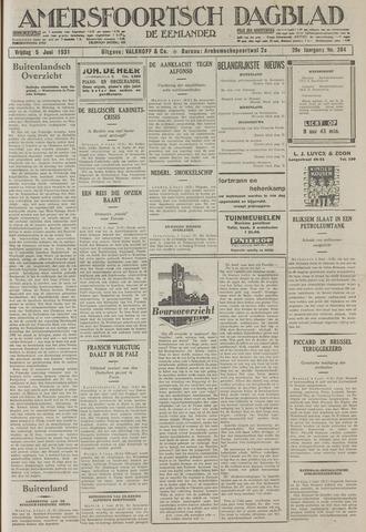 Amersfoortsch Dagblad / De Eemlander 1931-06-05