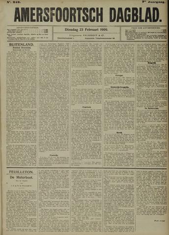 Amersfoortsch Dagblad 1909-02-23