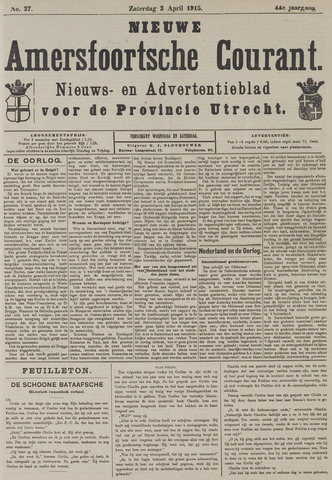 Nieuwe Amersfoortsche Courant 1915-04-03