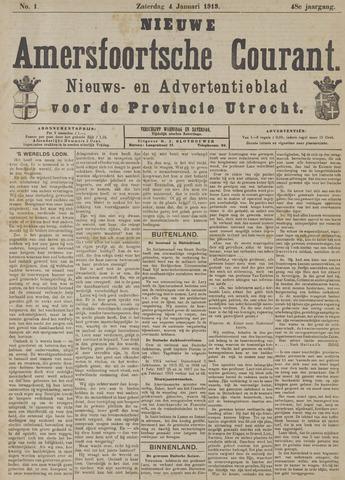 Nieuwe Amersfoortsche Courant 1919-01-04