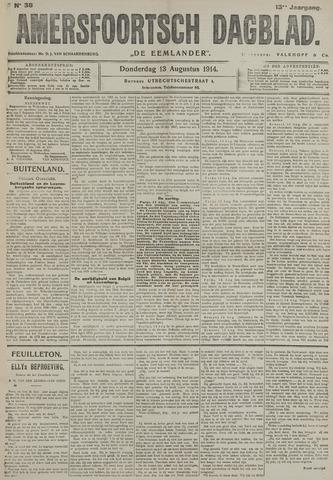 Amersfoortsch Dagblad / De Eemlander 1914-08-13