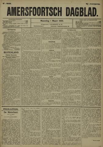 Amersfoortsch Dagblad 1909-03-01