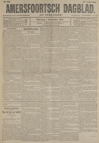 Amersfoortsch Dagblad / De Eemlander 1915-11-01