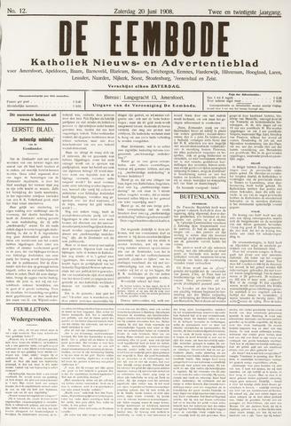 De Eembode 1908-06-20