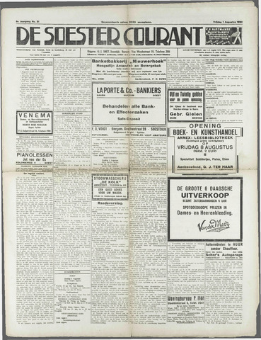 Soester Courant 1930-08-01