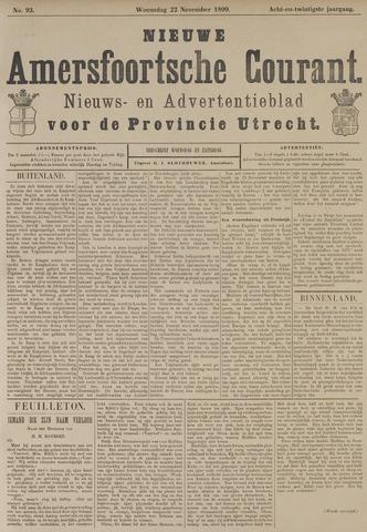 Nieuwe Amersfoortsche Courant 1899-11-22