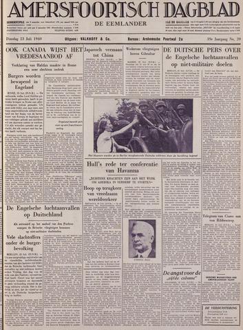 Amersfoortsch Dagblad / De Eemlander 1940-07-23