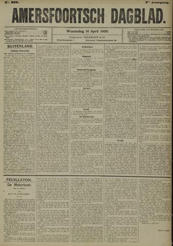 Amersfoortsch Dagblad 1909-04-14