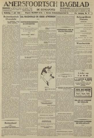 Amersfoortsch Dagblad / De Eemlander 1932-07-07