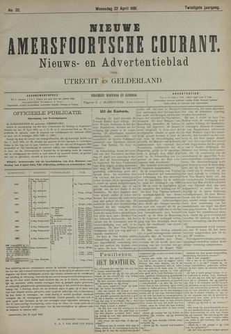 Nieuwe Amersfoortsche Courant 1891-04-22
