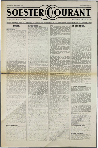 Soester Courant 1952-09-30