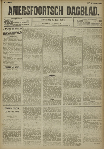 Amersfoortsch Dagblad 1907-06-19