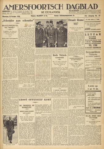 Amersfoortsch Dagblad / De Eemlander 1935-10-23