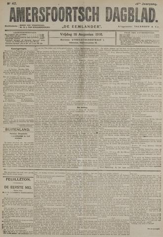 Amersfoortsch Dagblad / De Eemlander 1916-08-18