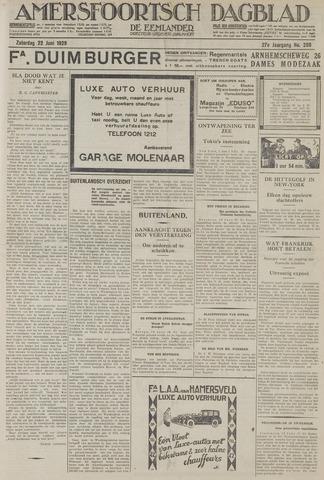 Amersfoortsch Dagblad / De Eemlander 1929-06-22