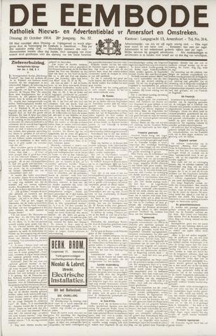 De Eembode 1914-10-20