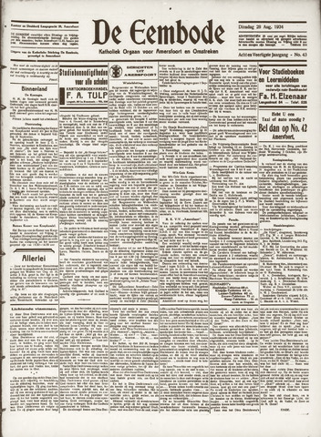 De Eembode 1934-08-28