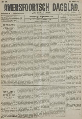 Amersfoortsch Dagblad / De Eemlander 1915-09-02