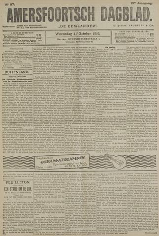 Amersfoortsch Dagblad / De Eemlander 1916-10-11