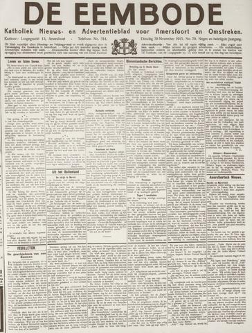 De Eembode 1915-11-30