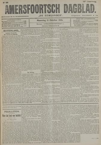 Amersfoortsch Dagblad / De Eemlander 1915-10-11
