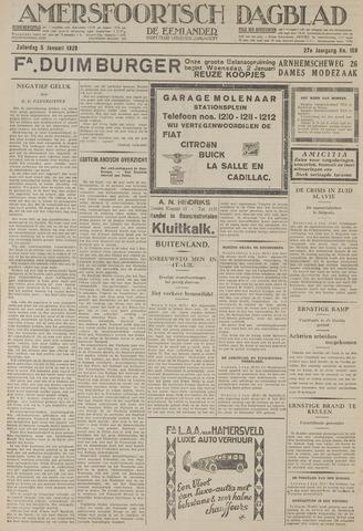 Amersfoortsch Dagblad / De Eemlander 1929-01-05
