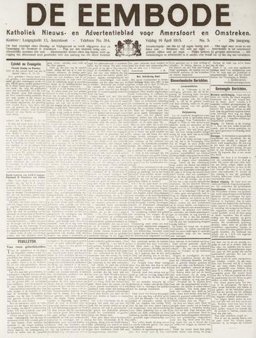 De Eembode 1915-04-16