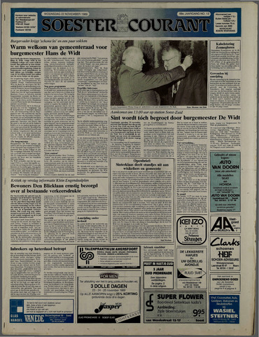 Soester Courant 1989-11-22
