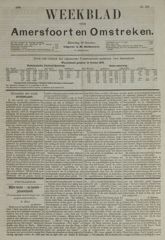 Weekblad voor Amersfoort en Omstreken 1878-10-19