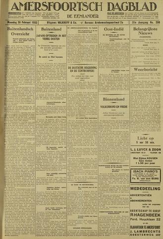 Amersfoortsch Dagblad / De Eemlander 1933-02-20