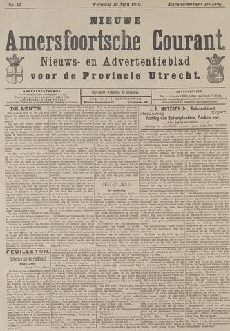 Nieuwe Amersfoortsche Courant 1910-04-20