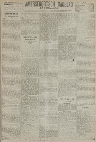 Amersfoortsch Dagblad / De Eemlander 1918-02-16