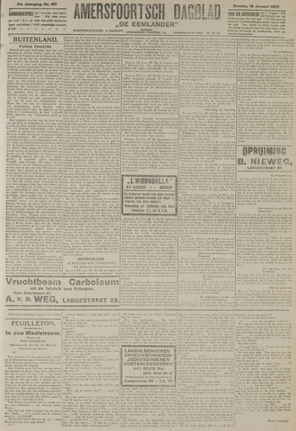 Amersfoortsch Dagblad / De Eemlander 1923-01-16