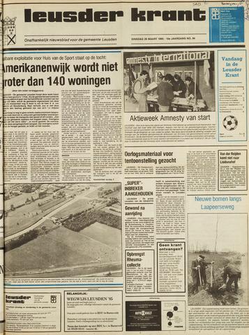 Leusder Krant 1985-03-26
